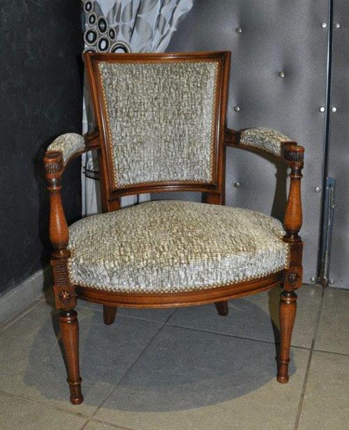 Restauration de fauteuils empire - Cours de restauration de fauteuil ...
