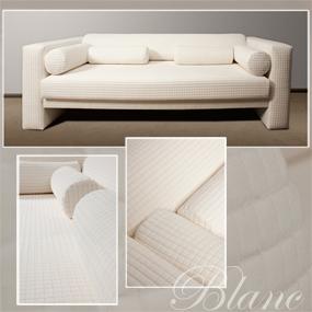 Haguenier Tapisserie Decoration canape blanc