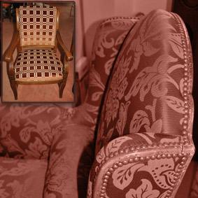 Haguenier réfection canapé et fauteuils