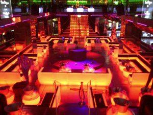 haguenier banquettes VIP Room