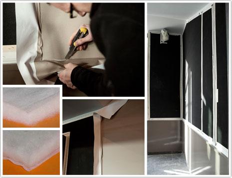 protection murale acoustique et invisible. Black Bedroom Furniture Sets. Home Design Ideas