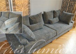 Haguenier Conception et réalisation d'un canapé