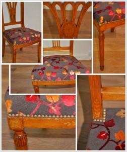 Haguenier tapisserie petitse chaise