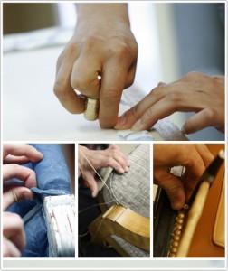 Haguenier Le métier de tapissier
