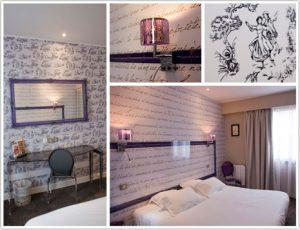 Haguenier Imprimé mural chambres d'hôtel
