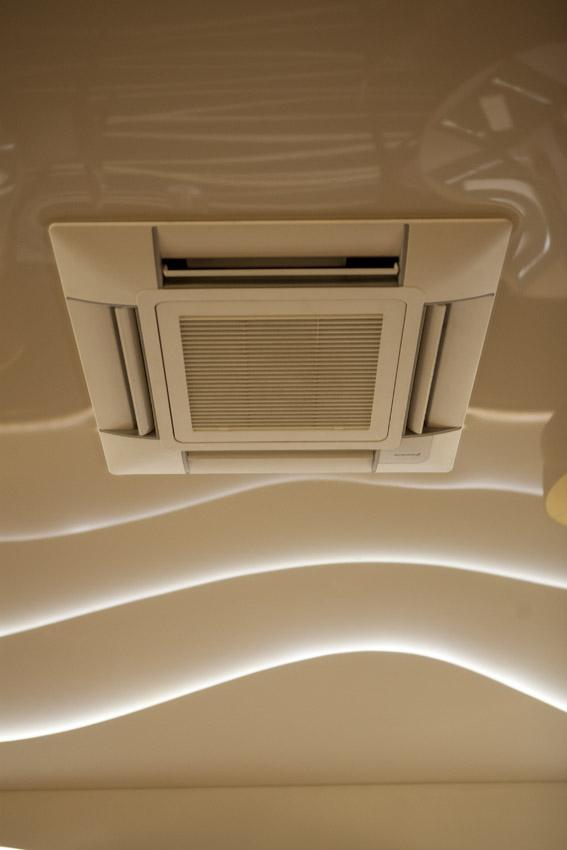 climatisation plafond tendu