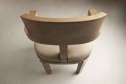chaise bureau cuir bois laiton 3 haguenier. Black Bedroom Furniture Sets. Home Design Ideas