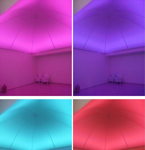 Installation D Un Dome En Plafond Tendu Haguenier