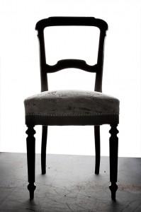Haguenier Tapisserie, Décoration d'une chaise