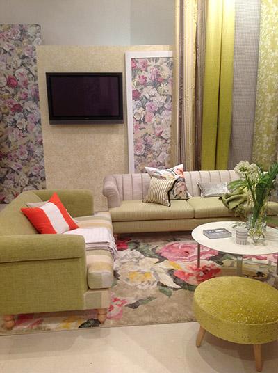 Tissu d'ameublement Designers Guild - Haguenier tapisserie décoration 2