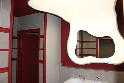Haguenier Plafond tendu en caisson lumineux rétro-éclairé