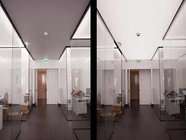 plafonds tendus lumineux pour l 39 op ra garnier. Black Bedroom Furniture Sets. Home Design Ideas