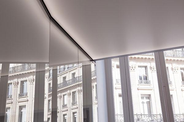 Haguenier, plafonds tendus lumineux pour l'Opéra Garnier