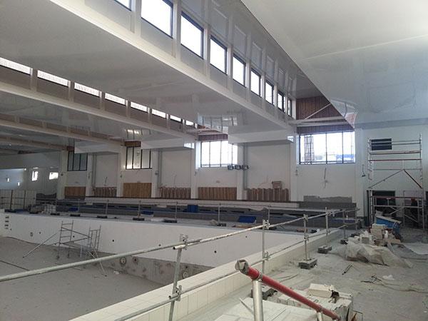 Haguenier plafond tendu piscine