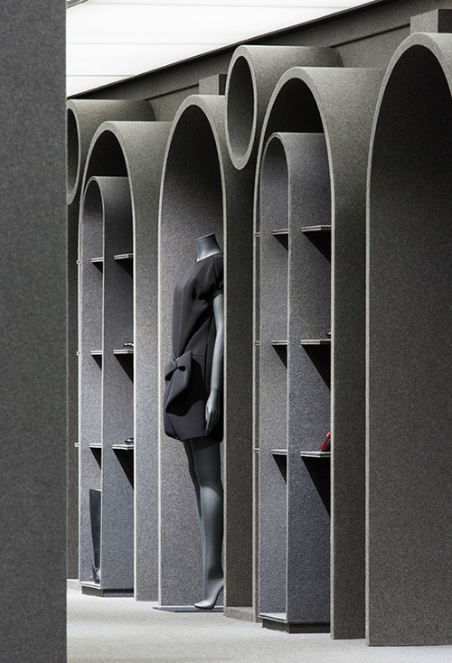 Haguenier tissu tendu, haute couture