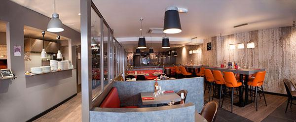 Am nagement complet d 39 un restaurant haguenier for Amenagement cuisine restaurant