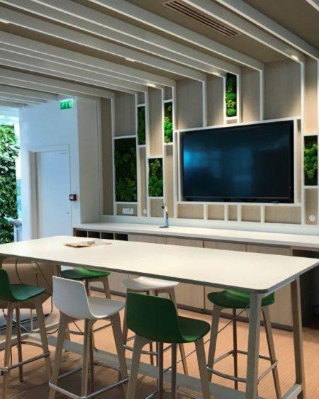 Le Groupe Haguenier rénove les espaces communs d'une entreprise située dans le quartier d'affaires de La Défense.