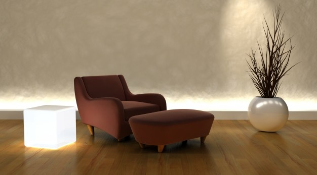 fauteuil courbes